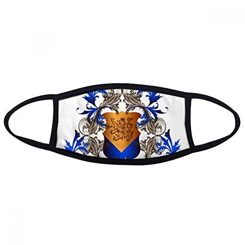 Mittelalter Ritter Europas Krone Emblem Shield Face Anti-Staub Maske Anti Kalten Maske Geschenk