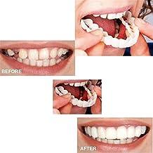 1 Piezas de odontología cosmética Broche instantáneo Sonrisa Comodidad Ajuste Dientes Flexibles chapas,Dientes Falsos