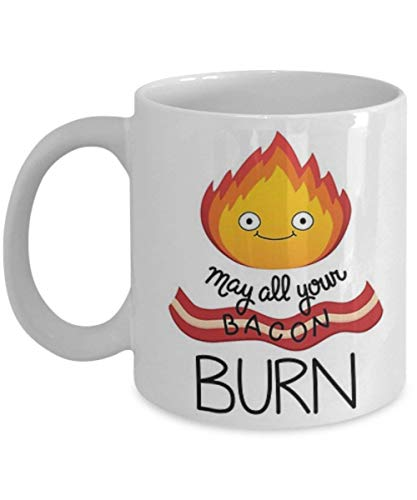 Calcifer - Coffee Mug, Tea Cup, Funny, Quote, Gift Idea for Him or Her, Women and Mother, Father's Day, Sister, Brother, Parent
