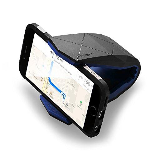Spigen Kuel [S40] ver.1 (Stealth), Handy Halterung Auto Horizontal Aerodynamisches Design KFZ Autohalterung fürs Armaturenbrett - Kompatibel mit iPhone, Galaxy, Huawei, usw