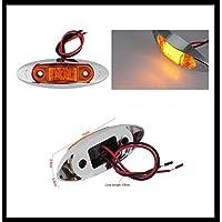 Limitazione LED luci, Set da  pezzi (con base cromata,/Orange) 100X 26X 38mm Dodge RAM 15002500Ford F150F250ecc.