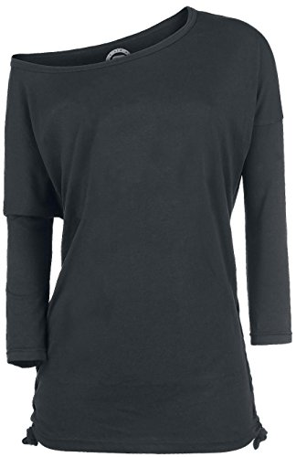 R.E.D. by EMP Side Knotting Longsleeve Manica lunga donna nero S