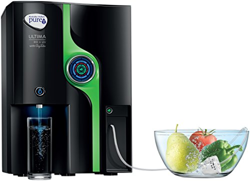 Hul Pureit Ultima 8-litre Ro + Uv Water Purifier With Oxy Tube (black)