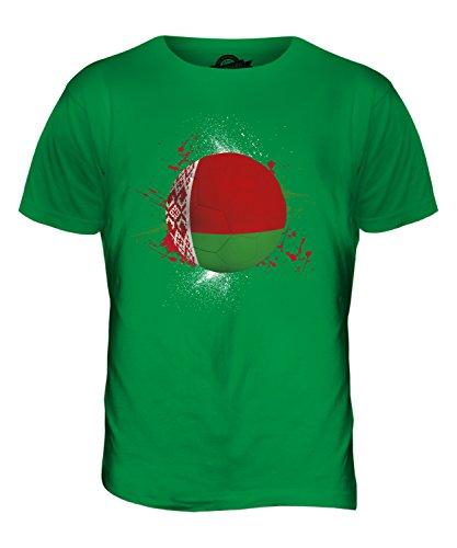 CandyMix Weißrussland Fußball Herren T Shirt Grün