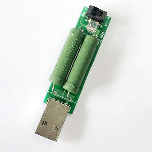 Ben-gi Entladen Schnittstelle Lastwiderstand USB mit Schalter 2A 1A USB Power Adapter