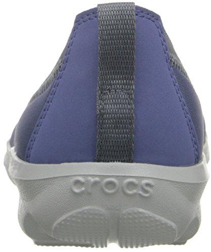 Crocs - Bsydaystrtchflt, Ballerine Donna Blu (Bijou Blue)