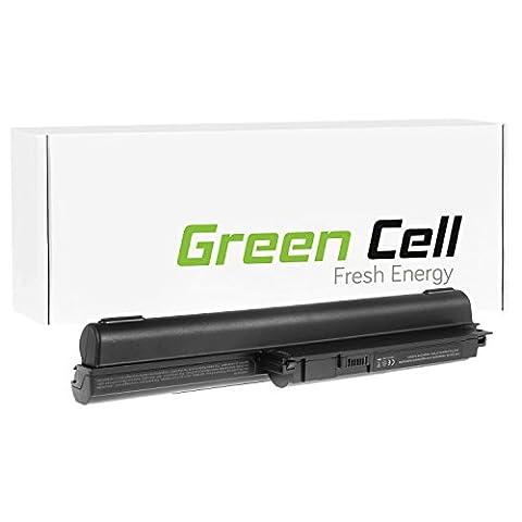Green Cell® Extended Serie VGP-BPS26A / VGP-BPS26 / VGP-BPL26 Akku für Sony Vaio PCG-61 PCG-61713M PCG-61714M PCG-91 PCG-91211M Laptop (9 Zellen 6600mAh 10.8V Schwarz)