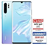 HUAWEI P30 Pro Dual-SIM Smartphone Bundle (6,47 Zoll, 128 GB ROM, 8 GB RAM, Android 9.0) Breathing Crystal + USB-Adapter [Exklusiv bei Amazon] - DE Version