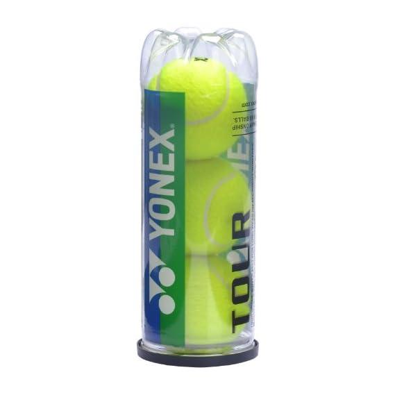 Yonex Tour Tennis Balls, Pack of 3