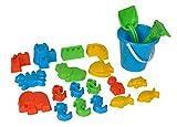 simba sandspielset netztasche set b ausgelegt