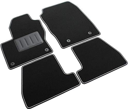 sourcing map Bac coffre arri/ère noire Boot Liner Tapis plancher chargement couvrir pour Focus 2012-2017