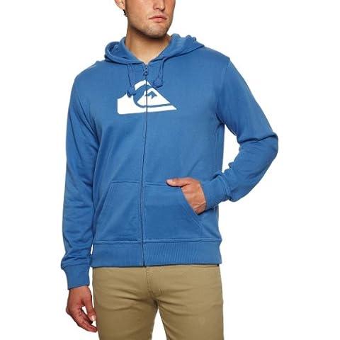 Quiksilver - Sudadera deportiva para hombre (con cremallera) azul BLUE JAY Talla:L