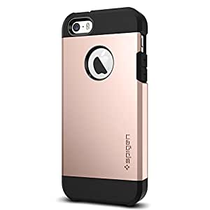 Spigen, 041Cs20190, Custodia Per Iphone 5 / 5S / Se, Oro Rosa