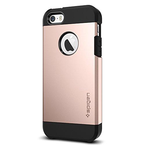 iPhone se Coque, Spigen iPhone 5S/5/SE Coque [Tough Armor] difficile de protection double couche de protection & Très Haute Protection Cas Étui Coque pour iPhone se/5S/5, iPhone se/5S/5Cover