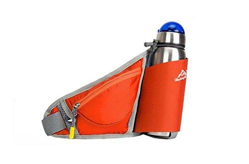 Zll/2016New Outdoor Wasser Flasche Taschen Taschen Taschen Running Sport für Damen und Herren Orange