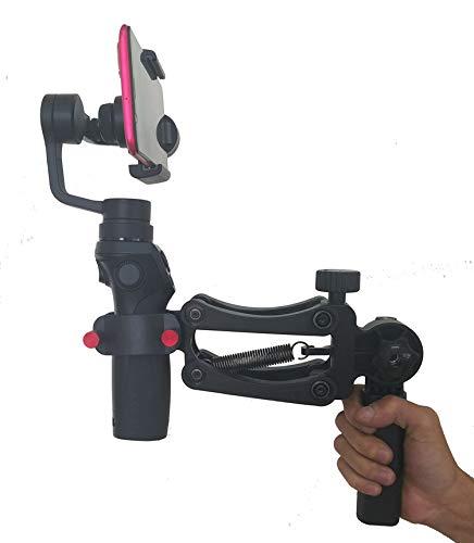 BOB-M Z Achse Feder Dual Handle Grip Gimbal Hold Arm für ZHIYUN smooth4 DJI osmo2 MOZA Mini mi OSMO Mobile 2 3 Achsen Gimbal