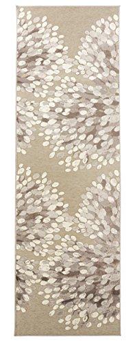 Vallila CM 000172-75 Sydänpuu 68 x 220 cm, alfombra, corazón, gris/b