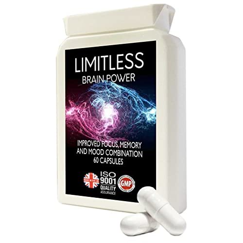 41GK%2BHVQgtL. SS500  - Nootropic Supplement Unlimited Brain Power- Advanced Formulation from Natural Science with L-Tyrosine, L-Theanine, Guarana, L-Taurine - Made in UK