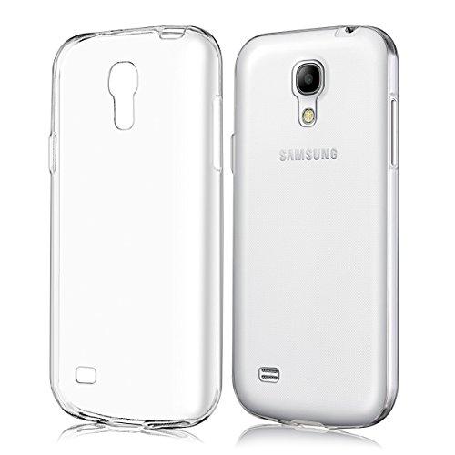 kwmobile Hülle für Samsung Galaxy S4 Mini i9190 / i9195 - TPU Silikon Backcover Case Handy Schutzhülle - Cover klar Transparent Handy Cover Für Samsung S4