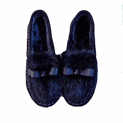 DM&Y 2017 Rex coreano arco piano dei capelli tacco basso scarpe casual fondo morbido focaccina cucitura f053 black