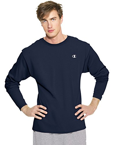 champion-cotton-jersey-mens-long-sleeve-t-shirt-t2228-m-navy