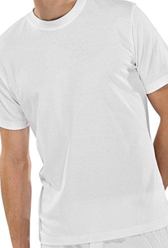 Schiesser Doppelpack T-Shirt 008150 Rundhals Weiß