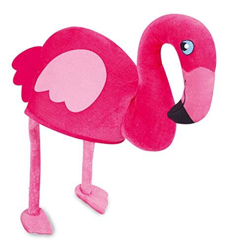 KarnevalsTeufel Flamingo - Hut, pink, rosa, Mütze, Paradiesvogel, Junggesellinnenabschied, Karneval, Fasching, Mottoparty