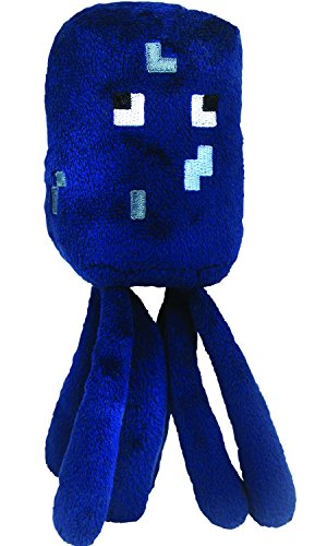 Squid Plush - Minecraft - 18cm 7""