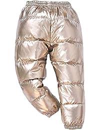 8b398de405fed9 Quge Ragazzo E Ragazza Spesso Caldo Pantaloni Slim Giù Pantaloni con  Foderato