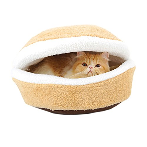 Four Seasons Shell Nest Winddichtes Haustier-Katze-Bett-Haus, 45CM