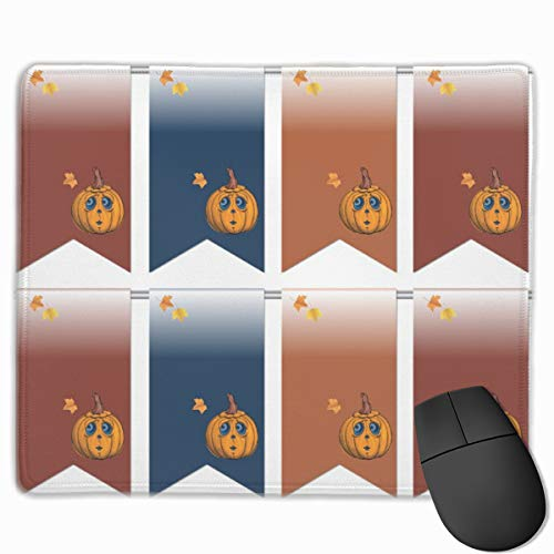Halloween Flags_42766 Mouse pad Custom Gaming Mousepad Nonslip Rubber Backing 9.8