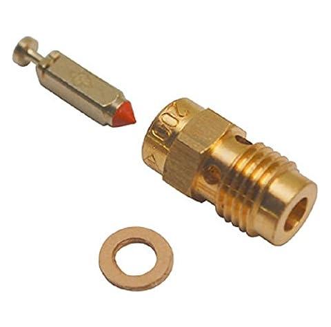 Pointeau de carburateur Dellorto PHBH 28 BS avec son puit Neuf 10375.200.33