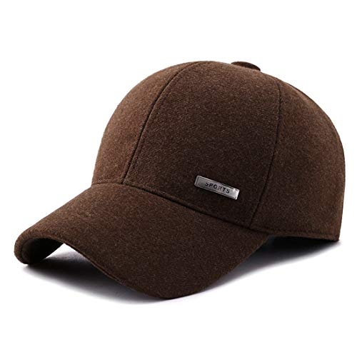 Gisdanchz Winter Baseball Cap Ear Flaps Sporting Goods Hats Dad Fashion Hats  Dem Hat Run Cap 196b54064920