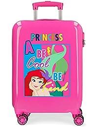 Disney Attitude Princess - Bagaglio per bambini, 55 cm, 34 litri, colore: Rosa