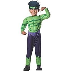 Rubies Disfraz Hulk Deluxe Inf 620016-T