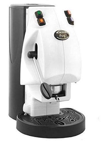 MACCHINA DA CAFFE' FROG REVOLUTION BIANCA NO VAPOR CIALDE CARTE 44 MM