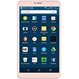 Ikall N1 Tablet (8 Inch, 2GB-16GB, WiFi + 4G LTE + Voice Calling), Gold