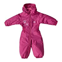 Trespass Kids All In One Padded Rainsuit Dripdrop