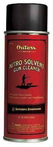 Outers Nitro Solvent Gun Cleaner (Aerosol 12-Ounce) (Gun Cleaner Solvent)