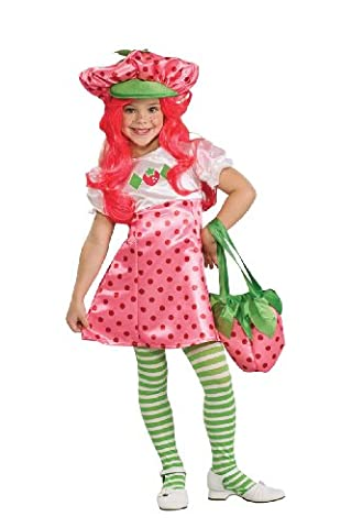 Deluxe Strawberry Shortcake Costumes - Rubies Costumes 185328 Strawberry Shortcake Deluxe Toddler-Child