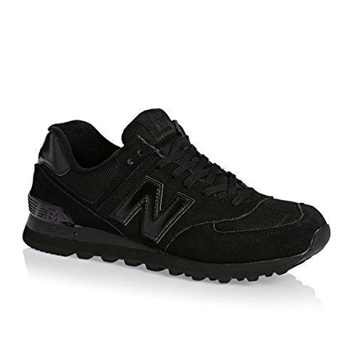 New Balance M574 D, Baskets mode homme Noir