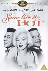 Some Like It Hot - Special Edition [DVD] [1959]: Amazon.co.uk: Marilyn  Monroe, Tony Curtis, Jack Lemmon, George Raft, Pat O'Brien, Joe E. Brown,  Nehemiah Persoff, Joan Shawlee, Billy Gray, George E. Stone,
