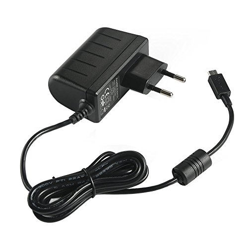 Preisvergleich Produktbild EasyAcc reg; 5V 2A Micro USB Ladegeräte AC Aufladegerät EU Adapter für Samsung Galaxy S6 S6Edge S5 S4 S3 Tablet und andere Android Devices, Powerbank, Bluetooth Lautsprecher, MP3 MP4 GPS, Schwarz