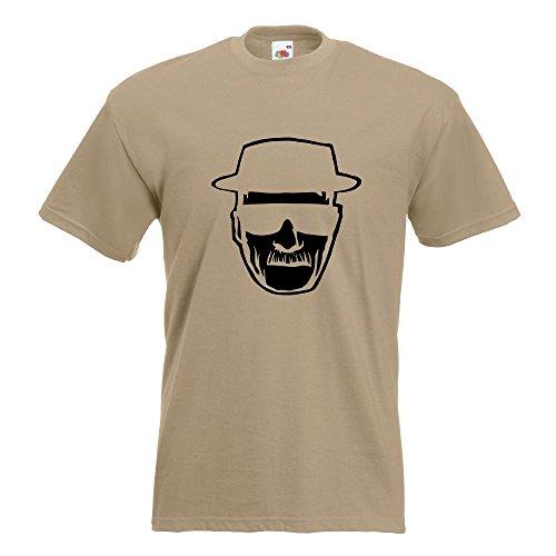 KIWISTAR - Methylamphetamin T-Shirt in 15 verschiedenen Farben - Herren Funshirt bedruckt Design Sprüche Spruch Motive Oberteil Baumwolle Print Größe S M L XL XXL Khaki