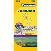 Mapa Local Italia Toscana (Mapas Local Michelin)