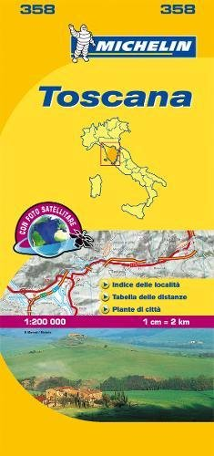 Mapa Local Italia Toscana (Mapas Local Michelin) por MICHELIN