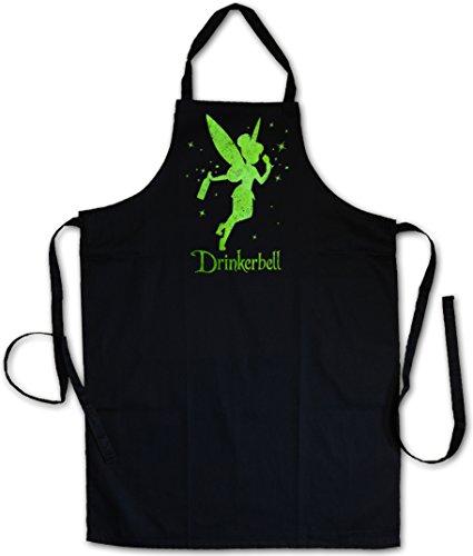 Urban Backwoods Drinkerbell Grillschürze Küchenschürze Kochschürze - Drinkerbell Kostüm