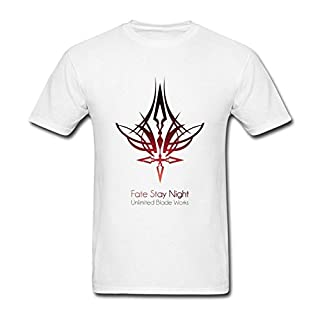 Herren's Saber Command Seal Fate Stay Night UBW T Shirt XXX-Large