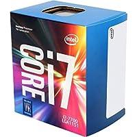 Intel Core i7-7700 - Procesador con tecnología Kaby Lake (Socket LGA1151, Frecuencia 3.6 GHz, Turbo 4.2 GHz, 4 Núcleos, 8 Subprocesos, Intel HD Graphics 630)
