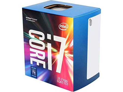 Intel Core i7-7700 Prozessor der 7. Generation (bis zu 3.6 GHz mit Intel Turbo-Boost-Technik 2.0, 8 MB Intel Smart-Cache) (Intel-prozessor Generation I7 4.)